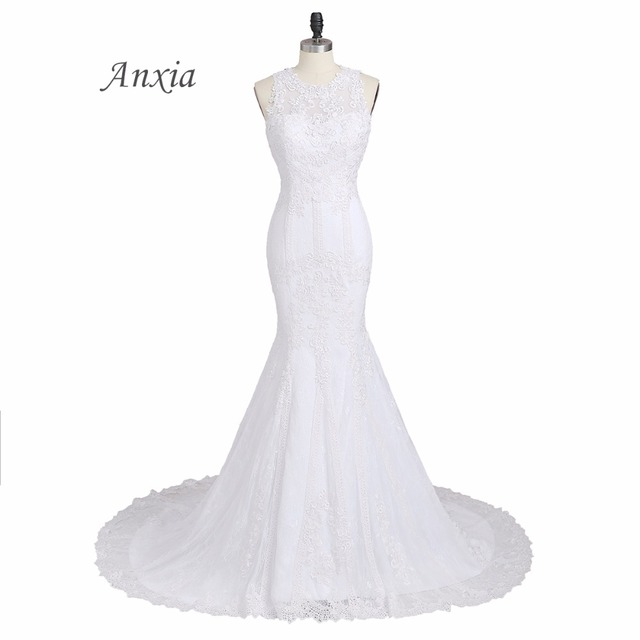 Aliexpress.com : Buy New Arrival Anxia Mermaid Snow White and Ivory ...
