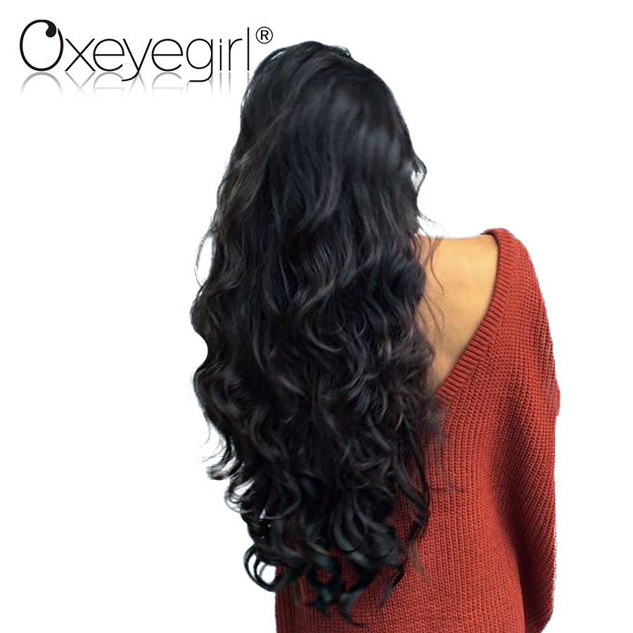 Oxeye girl Malaysian Body Wave Bundles Human Hair Extensions 10-26 100% Human Hair Bundles Natural Color Remy Hair 1 Piece