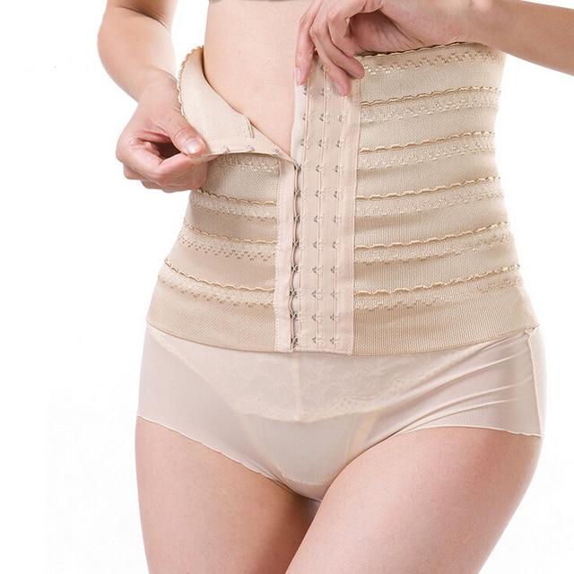 ee7e9fe618 Postpartum Belly Recovery Belt Tummy Wrap Corset Girdle postpartum body  shaper belly wrap weight loss girdle women waist train