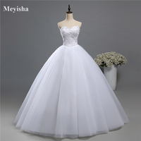 ZJ9066 2016 lace White Ivory Gown pearls Wedding Dresses for bride plus size maxi size 2 4 6 8 10 12 14 16 18 20 22 24 26