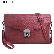 CLELO Women Messenger Bag PU Stone Pattern Small Bag Handbags Crossbody Bag For Women Clutches