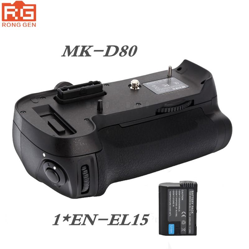 Meike MKD800 MK-D800 Battery Grip for Nikon D800 D810 D800E as MB-D12 +1* EN-EL15 Battery цена и фото
