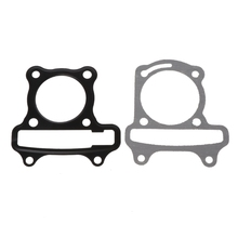 1Set/2Pcs Motorcycle Scooter GY6 Cylinder Gasket Set Cushion Pad GY6 50cc 60cc 80cc 90cc 125cc 150cc Engine Moped gy6 coil 80cc engine coil magneto motor stator gy6 50cc8 pole ac gy6 generator