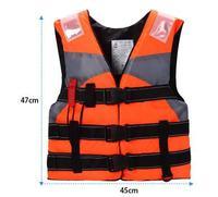 Professional Youth Kids Professional Life Vest Child Life Jacket Foam Flotation Swimming Boating Ski Vest Safety Product