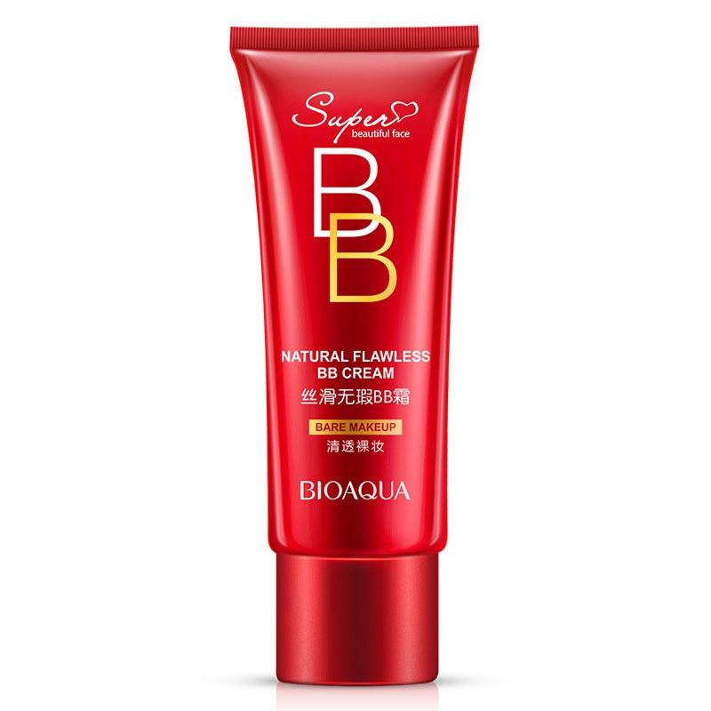 Face Foundation Cover BB Cream Oil-Control Whitening Fuktgivande Koreanska Kosmetika Make Up 30ml