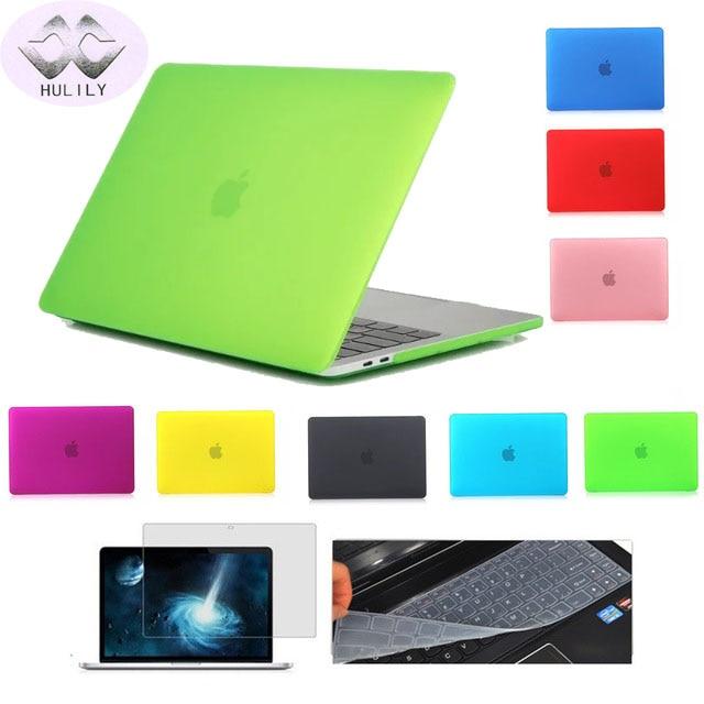 Plastica Snap On Custodia Per Macbook Pro 13 15 pollice con Retina A1425 A1502 A1398 A1706 A1708 HardShell Custodia per Laptop