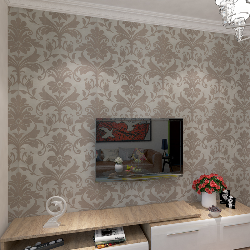 ФОТО Wallpaper for walls in rolls Home Decor Embossed Non-woven Wallpaper for Walls 3 D Living Room Background QZ0119 papel de parede