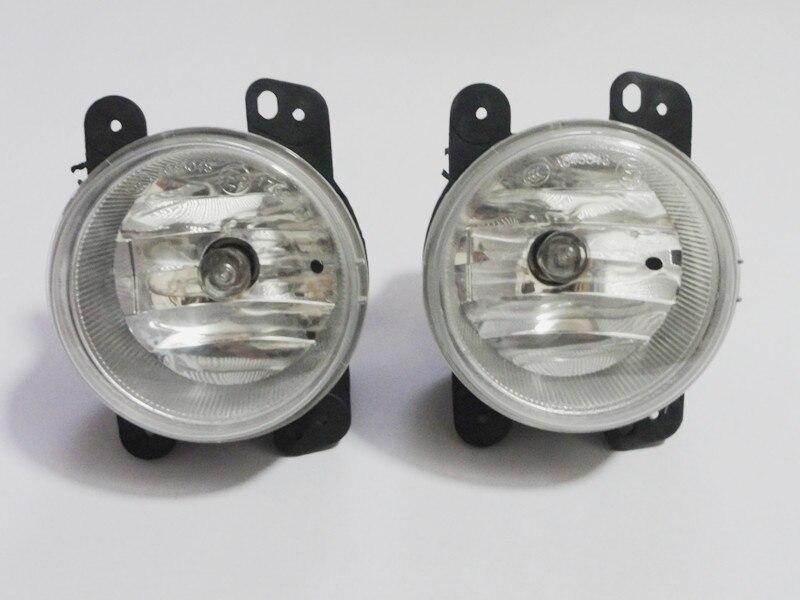 1Pair fog light halogen fog lamp car lights with bulbs assembly For Chrysler PT Cruiser 2006-2009 авто в казахстоне chrysler pt cruiser