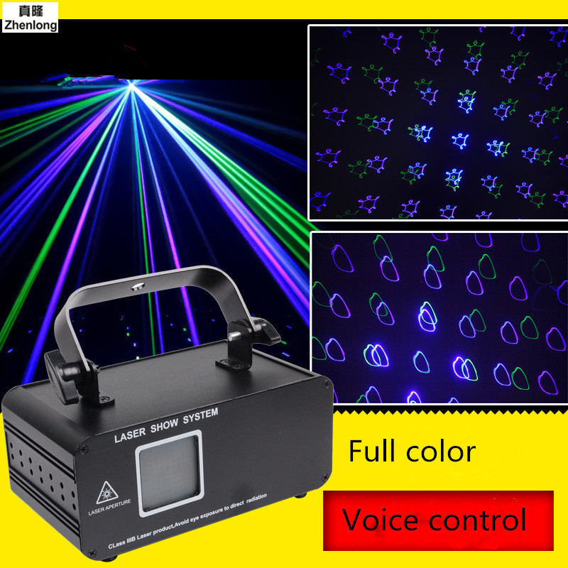 High Quality 20W Full Color Animation Effect R&G Audio Stars Whirlwind Laser Projector Stage Disco DJ Club KTV Family Party Lamp стоимость