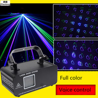 High Quality 20W Full Color Animation Effect R&G Audio Stars Whirlwind Laser Projector Stage Disco DJ Club KTV Family Party Lamp