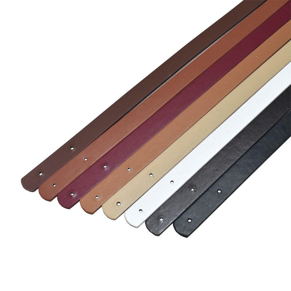 2pcs/pair 60cm Women Detachable PU Leather Bag Strap Belt Shoulder Bag Handle Accessories Belt Ladies Handbag Band KZ0007