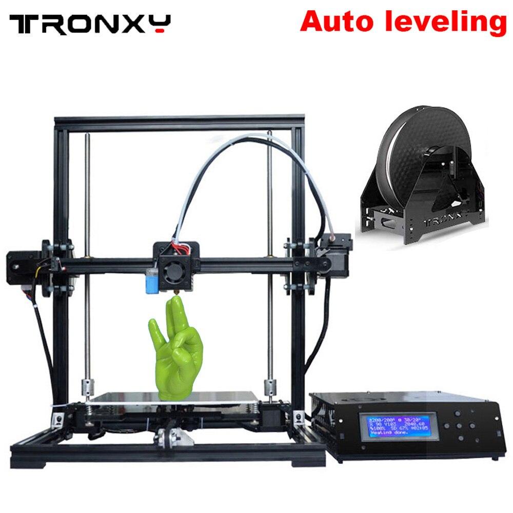 Tronxy X3A 3D Printer Auto Level 220 220 300mm Aluminium Structure DIY 3D Printer Kit 1