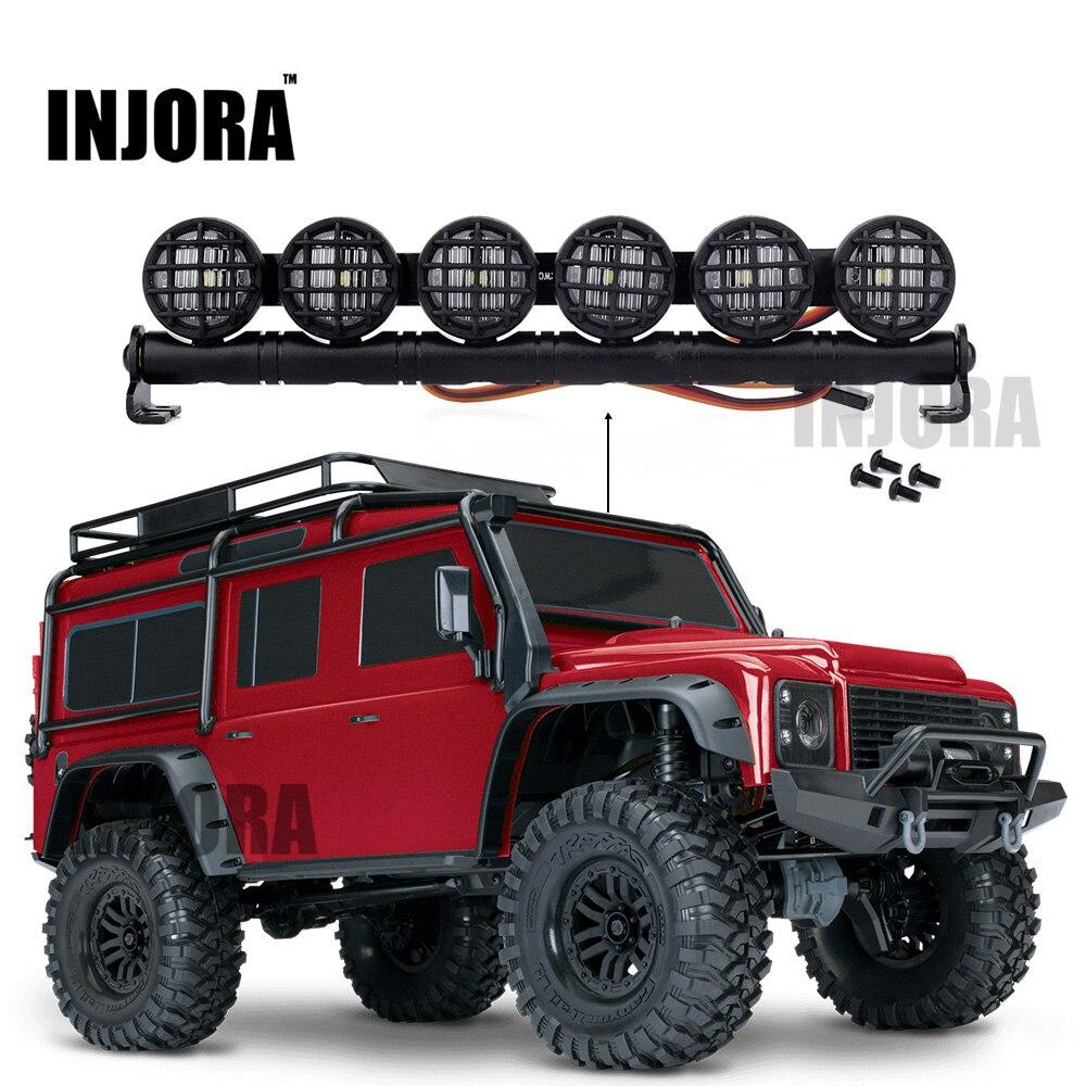 152mm Multi-función LED Barra de luz para RC Crawler Traxxas TRX-4 TRX4 D90 Axial SCX10 90046