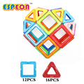 Espeon 28 PCs Regular Size Enlighten Magnetic Designer Construction Toy Educational Building Blocks Bricks Toys for Children