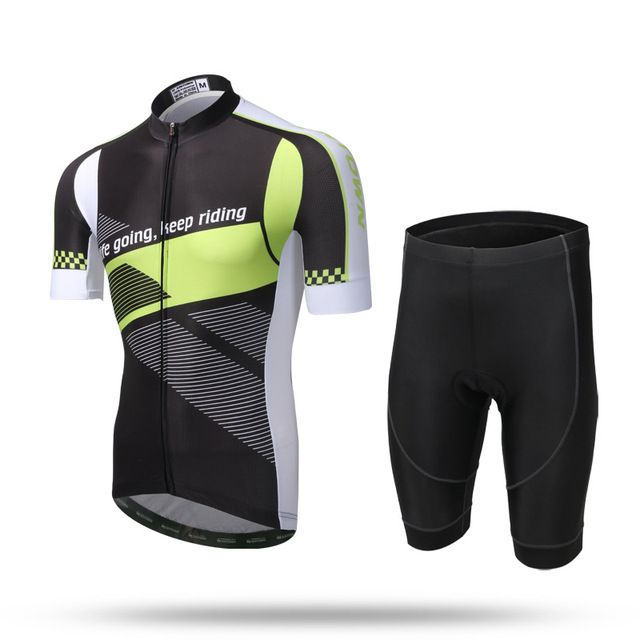 XINTOWN Men s Summer Short Sleeve Cycling Team Jersey Set MTB Bike Bicycle  City Road Ridding Clothing 5dff8185d