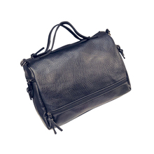 Neue Ankunft Frauen Handtaschen Pu-leder Boston Damen Tasche Schwarz Frauen Handtaschen Marke Schulter Crossbody Schlinge Weiblichen Taschen Bolsas