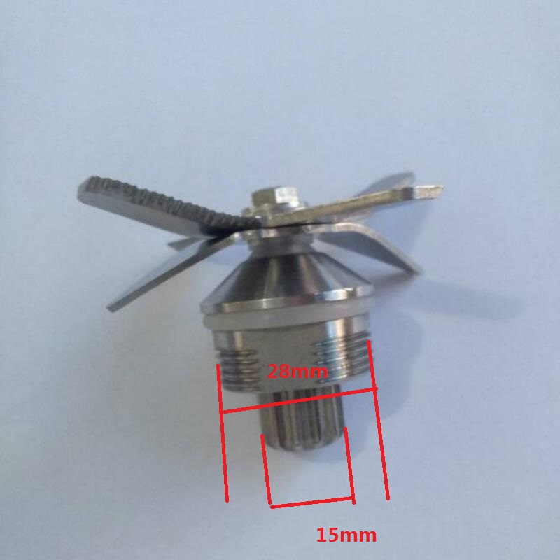 Blender Parts quality stainless steel 6 cross blades OTJ-010 013 767 ice crusher d11 commercial blenders parts mixer 6 blades stainless steel original 67 02a