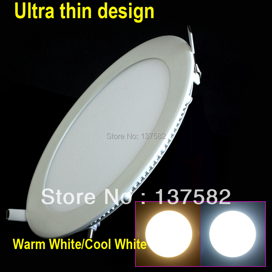 25 Watt Round LED Ceiling Downlight Recessed Kitchen Bathroom Lamp 85-265V LED Light Warm White/White/Cool White Free shipping zy 18w 1900lm 6500k 36 led white light round ceiling lamp source module white 85 265v 2 pcs