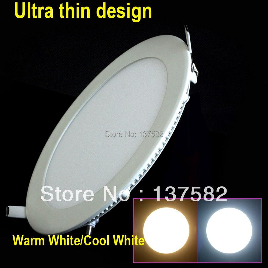 25-watt-runde-led-deckenleuchte-einbau-küche-bad -lampe-85-265-v-fÜhrte-hinunter-licht-warmweiß