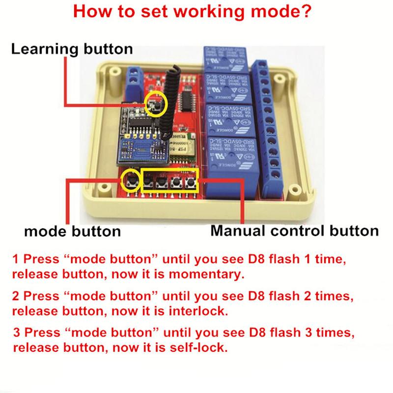 set working mode