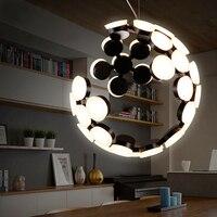 Postmodern chandelier novelty fixtures nordic hanging lights deco pendant lamps living room lighting LED suspension luminaire
