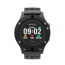 GPS Smart watch F5 Wearable Devices Activity Tracker Bluetooth 4.2 Altimeter Barometer Thermometer GPS Sport watch