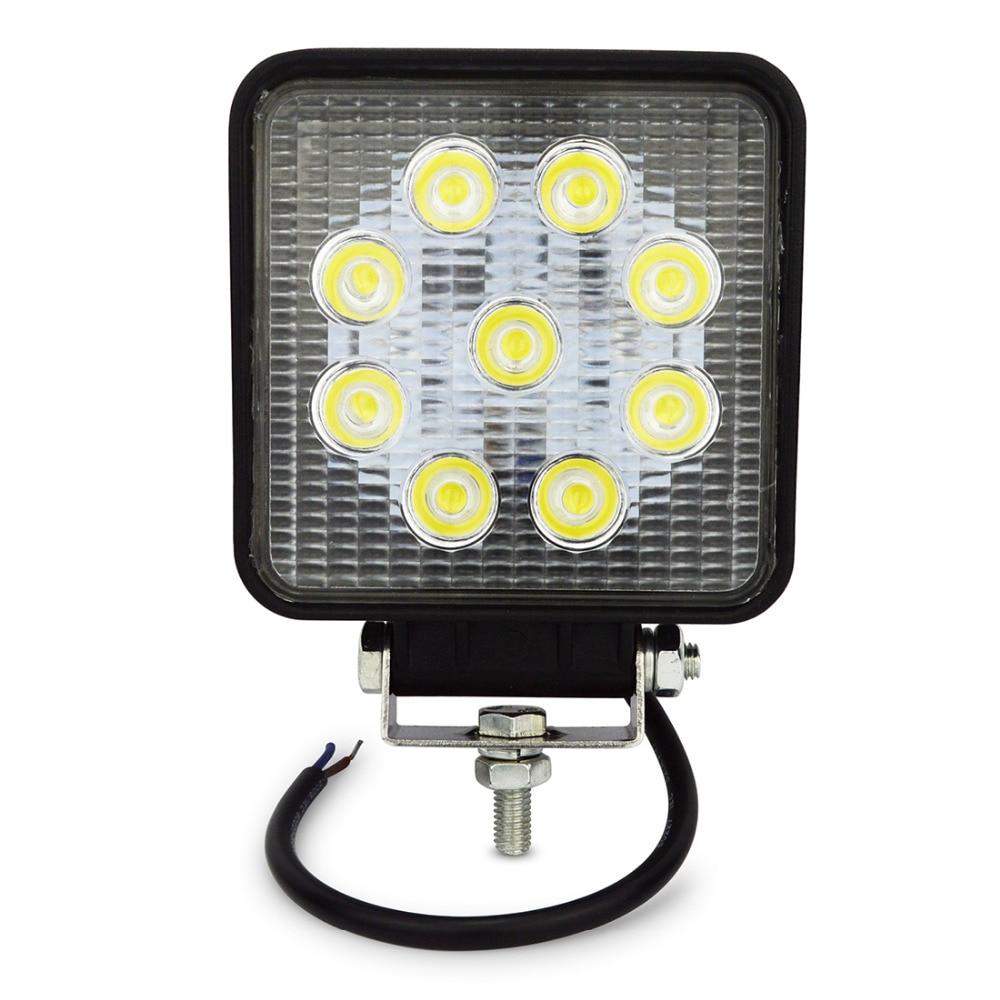 Safego 4 hüvelykes 27w led lámpa 12v 24v lámpa spot led led lámpa - Autó világítás - Fénykép 1