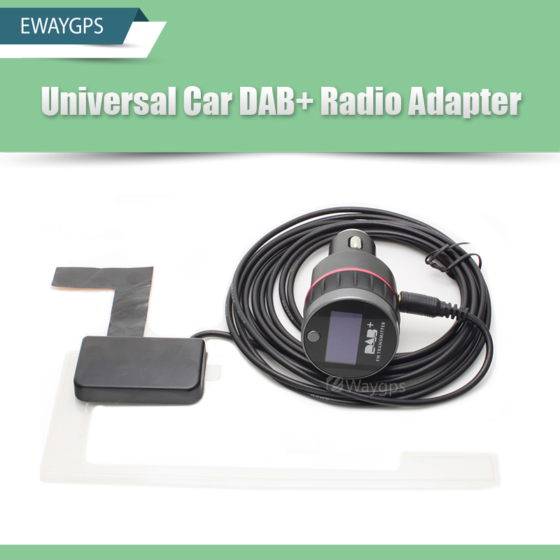 Universal Car DAB DAB+ Radio Receiver Tuner with FM Transmitter converter Plug-and-Play Adaptor Adapter фонари чингисхан фонарь налобный