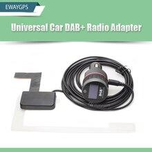 Coche Universal DAB DAB + Sintonizador Receptor de Radio con el Transmisor FM Adaptador convertidor Plug-and-Play