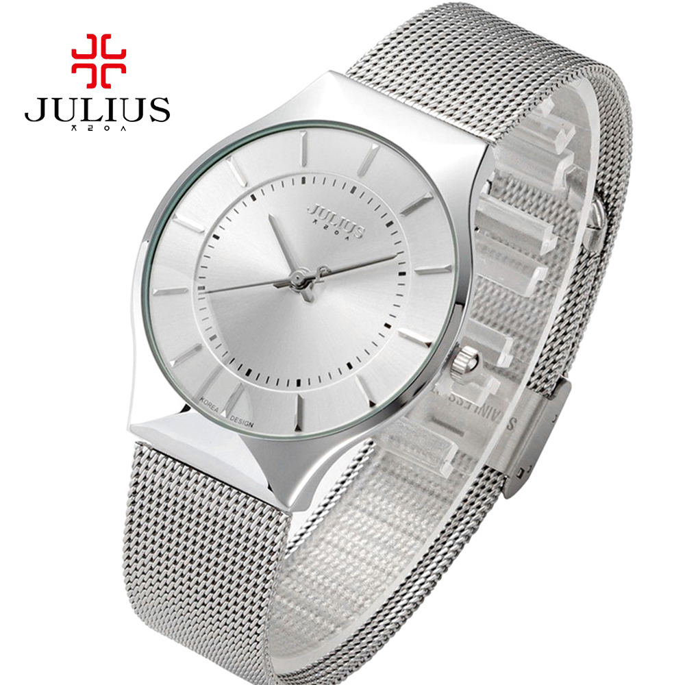 12dec6273a5 Julius Mulheres Relógios Top Famosa Marca de Luxo Casual Relógios De Pulso Relogio  Feminino Relógio de Quartzo Senhoras Relógio Ultra Fino Feminino em ...