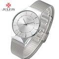 Julius relojes de las mujeres top famosa marca de lujo casual reloj damas relojes de cuarzo ultra delgado relojes de pulsera relogio feminino