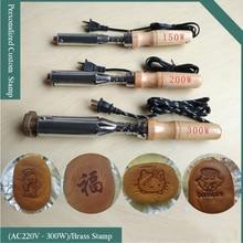 300W Electric soldering iron hot stamping Machine,leather pressing machine,cake branding machine,Wood marking,embossing machine