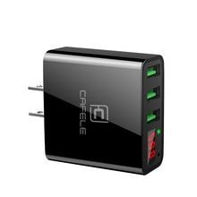 Светодиодный Дисплей USB Зарядное устройство 3 Порты USB Зарядное устройство EU/US Plug 2A USB Зарядное устройство USB Wall Зарядное устройство
