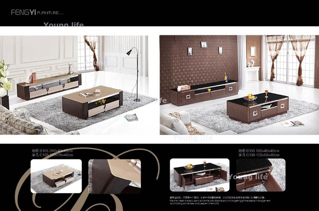 Simple And Elegant Coffee Table Tv Set Sf 108 Whol Only