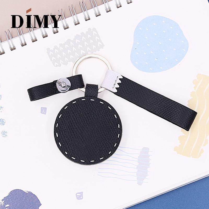 DIMY Fashion Handmade Custom Original Japanese Dharma Charm Animals Pendant Bag Charms Leather Simple Accessories Girls Gifts