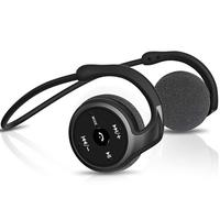 RALYIN Wearable Mp3 Music Player Sport Wireless Headphones Bluetooth Earbuds Memory Storage Headset for Running with micphone