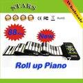 Mini 88 teclas roll up eletrônico do teclado de piano de som do bebê organizador brinquedos instrumentos musicais de piano criança para As Crianças