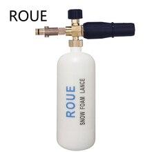 Rue marca nova lança de espuma para nilfisk arredondado encaixe para nilfisk gerni stihle arruelas de pressão novo tipo de espuma de neve lança