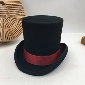 Image 1 - בריטי רוח באירופה ואת אדון כובע שלב ביצועים למעלה כובע רטרו אופנה ואישיות נשיא כובע כובע