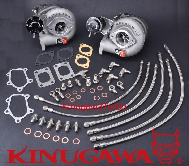Kinugawa Billet Turbocharger Kit Bolt-On TD05H-18G Ni*san Skyline GT-R RB26DETT #322-02035-003