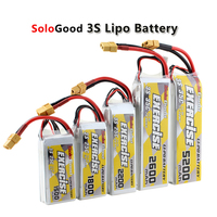 3S Lipo Battery 11.1V 1200mAh 1800mAh 2200mAh 25C 2600mAh 3000mAh 4200mAh 5200mAh 35C With XT60 Plug|Parts & Accessories|Toys & Hobbies -