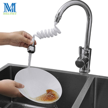 1Pc Flexible Kitchen Faucet Sprayer 360 Rotating Nozzle Adapter Water Tensile for Spouts Accessories