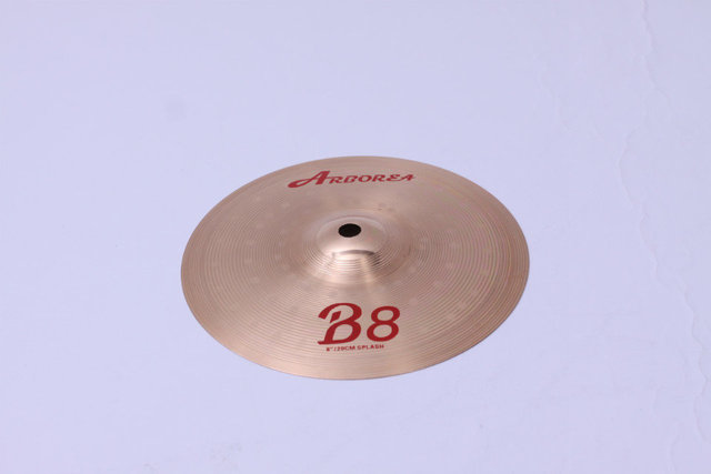 "Arborea B8 series 4 Cymbals set: 14"" hihat+16""crash+18""crash ride+20""ride+8""splash+cymbal bag 4"