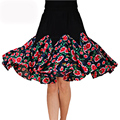 2016 New fashion Square women dance skirt  pitbull dancing skirt cheap summer Latin dance skirt expansion skirt lady clothes