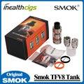 100% Original Smok TFV8 Atomizador 6 ml con 4 Motores Turbo Patentado Único Superior de llenado de Control de Flujo de Aire Ajustable Tanque