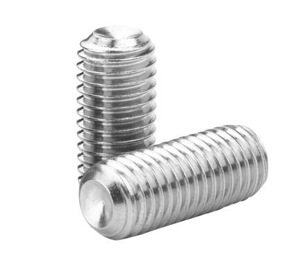 10pcs <font><b>M3</b></font> M4 stainless steel hexagon socket fixed end screw without head machine 2mm-<font><b>25mm</b></font> length image