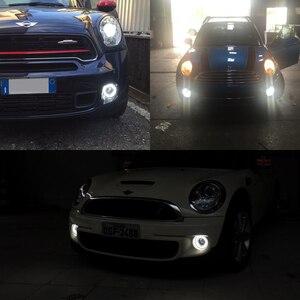 Image 5 - Drl farol de led para nevoeiro, para mini cooper, luzes diurnas, e4, ce, lâmpada de luz diurna para r55, r56, r57 e r58 r59 r60 r61 ultra branco