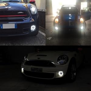 Image 5 - Led DRL światła przeciwmgielne dla Mini Cooper Daylights E4 CE światła do jazdy dziennej Led lampa dla R55 R56 R57 R58 R59 R60 R61 Ultra białe światło