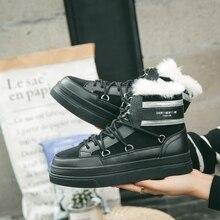Hemmyi Мода 2017 Женские ботинки из микрофибры водонепроницаемые теплые женские ботильоны повседневная женская обувь зимние сапоги Зимняя обувь Botas