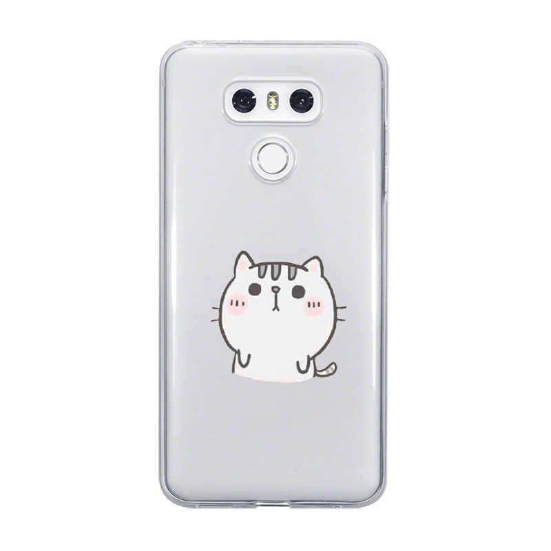 Ciciber Coniglio Cassa Del Telefono Del Gatto Per LG G6 G7 G5 G4 V20 V30 V35 V40 THINQ Molle di TPU Per LG k8 K7 K10 K4 K9 K11 2017 2018 Più Coque